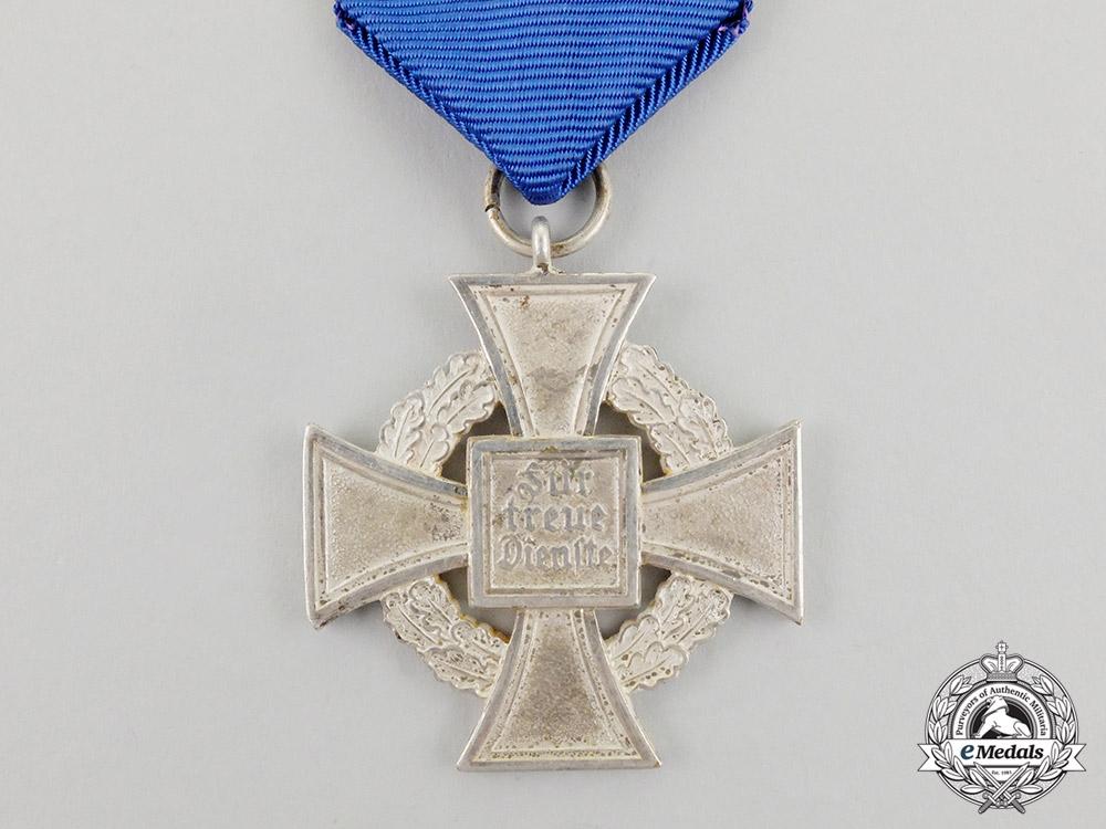 A 25-Year Faithful Service Cross Second Class