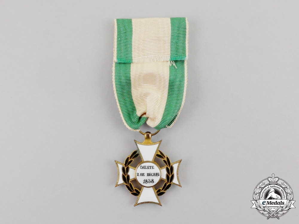 Spain, Provincial Regency. A Distinguished Service Cross for the Battle of Cheste, c.1841