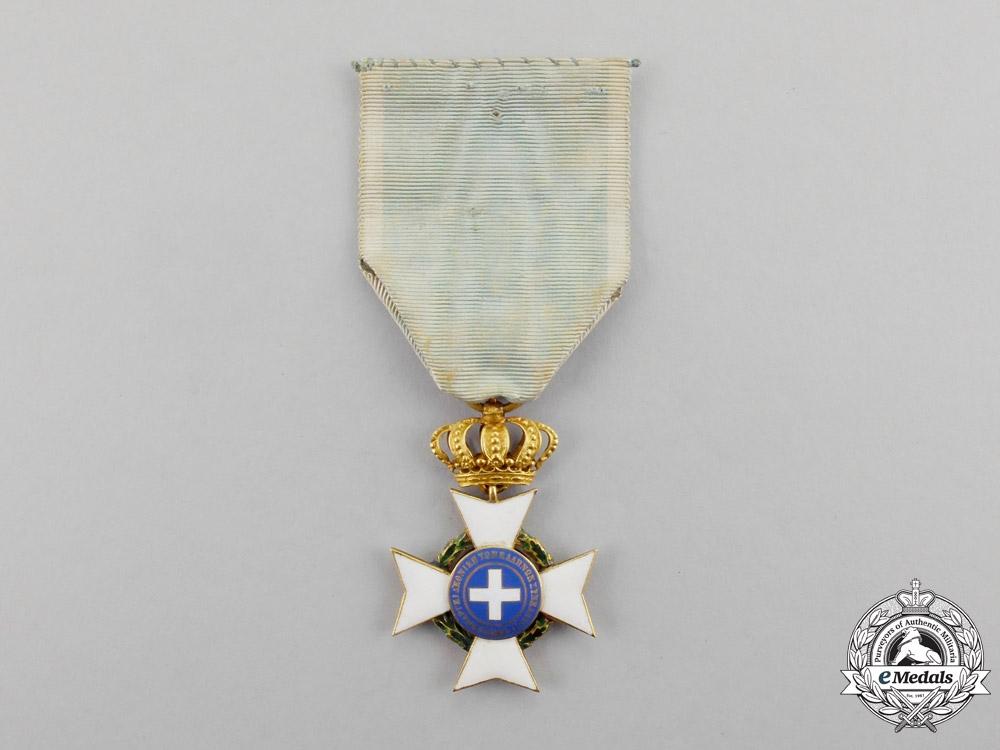 Greece. An Order of the Redeemer, Officer's Cross, Type II, c.1875