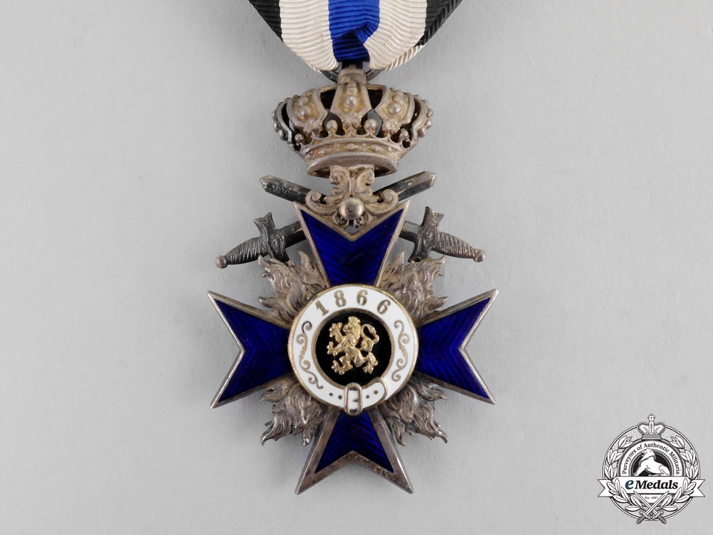 Bavaria. An Order of Military Merit, Fourth Class with Crown and Swords, by Gebrüder Hemmerle