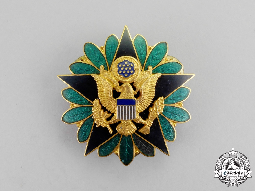 United States. An Army General Staff Identification Badge ...