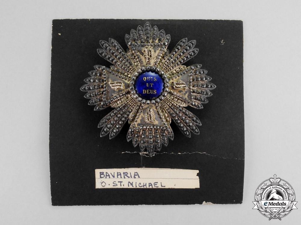 Bavaria. An Order of St. Michael, I Class Grand Cross Star, c.1865