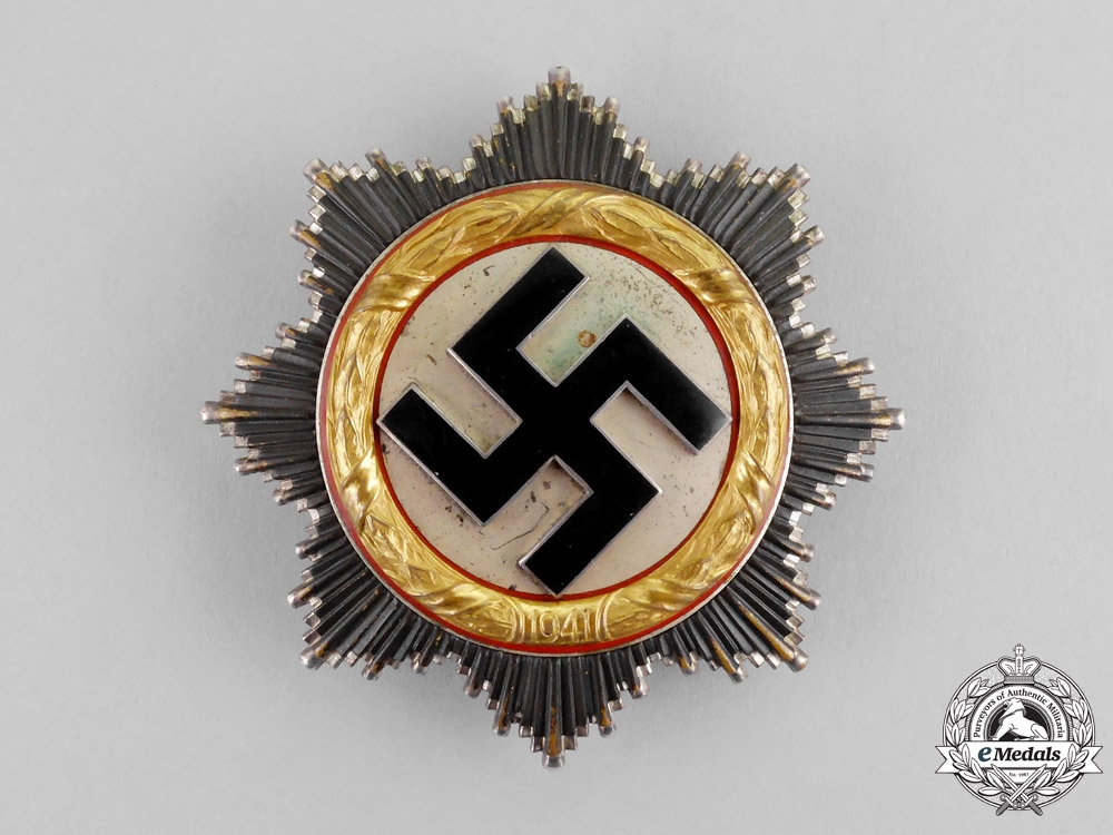 Germany. A German Cross in Gold, by Fritz Zimmermann of Stuttgart, Light Version