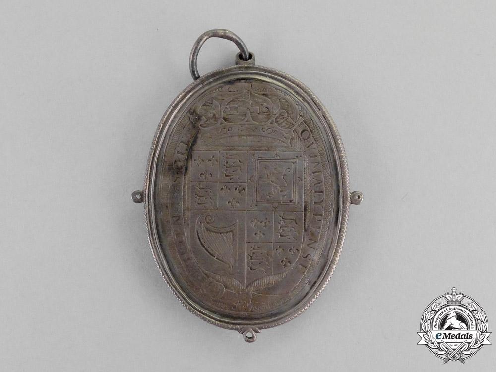 United Kingdom. A Charles I Royalist Badge & Miniature, c.1649