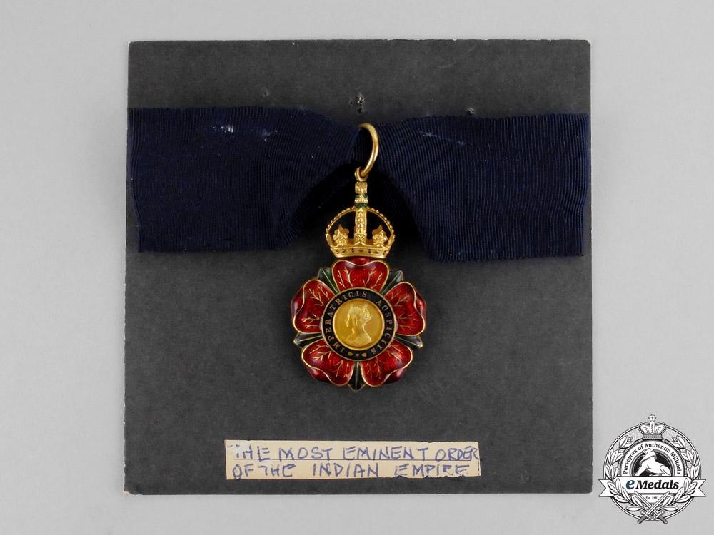 United Kingdom. A Most Eminent Order of the Indian Empire, C.I.E., Companion's Badge