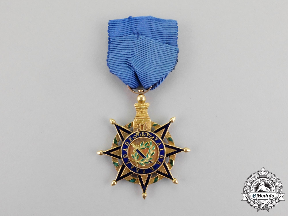 Portugal, Kingdom. An Order of the Tower and Sword in Gold, Type I, c.1815