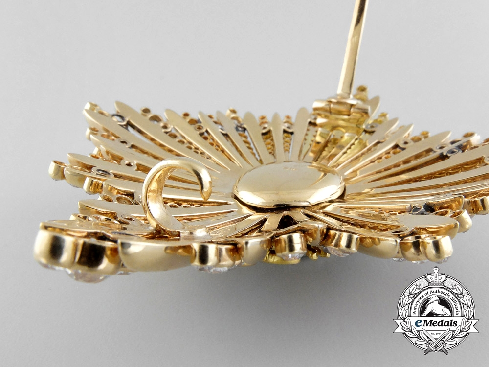 Serbia. A Superb Order of the White Eagle in Gold & Diamonds