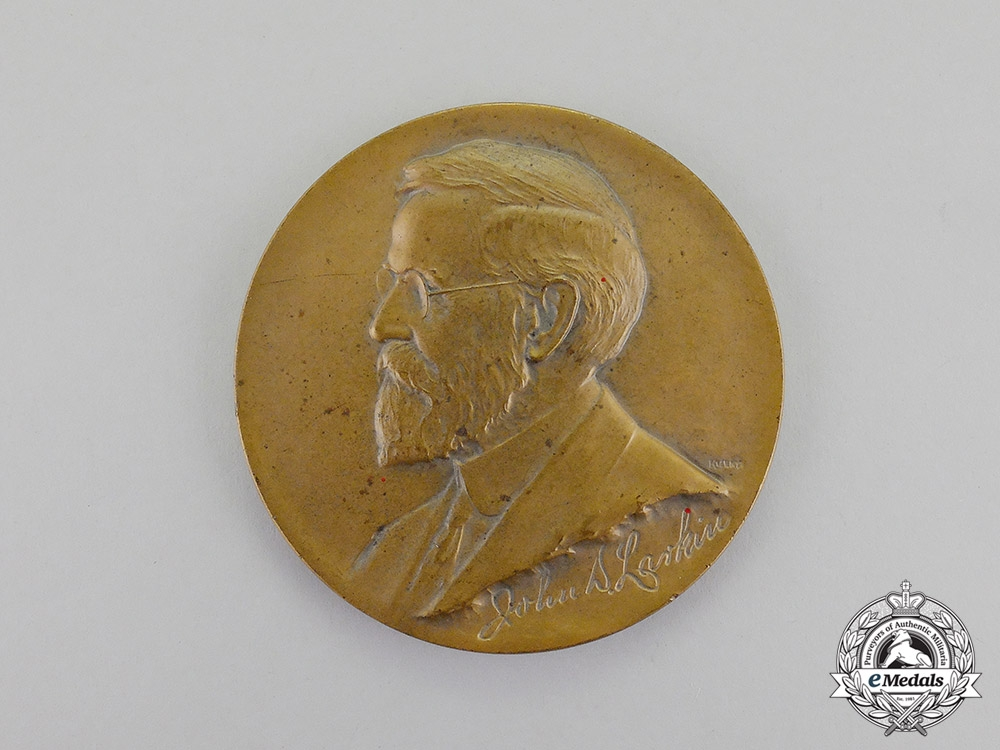 United States. Two Commemorative Table Medals