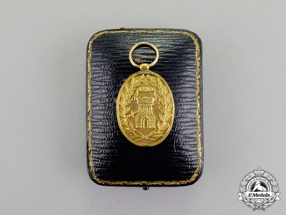 Spain, Kingdom. An Award of Distinction for the Battle of Irun, Troop Version. c.1837