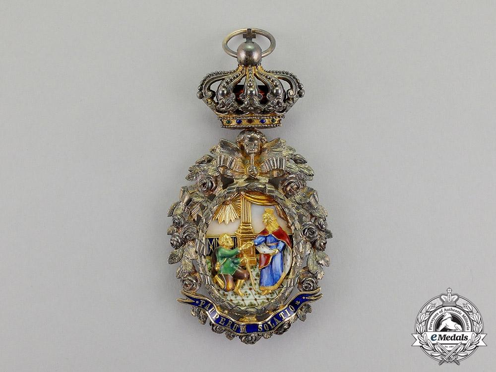 Portugal, Kingdom. A Superb Order of St.Isabella, Ladies Sash Badge, c.1910