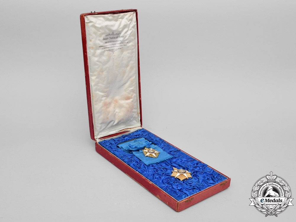 Portugal, Kingdom. A Superb Order of the Tower and Sword in Gold, 1st Class Grand Cross, c.1840