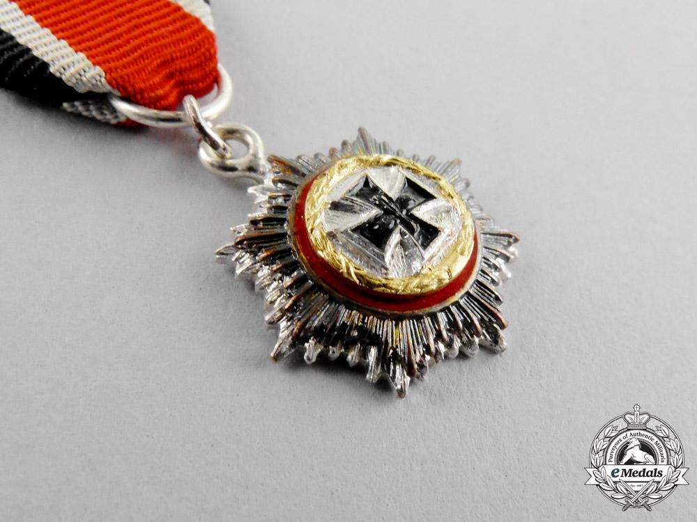 Germany, Republic. A Miniature German Cross in Gold, 1957 Version