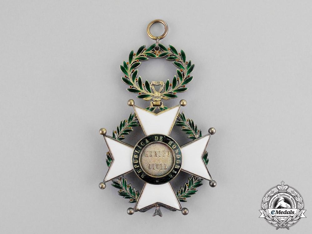 Honduras. An Order of Santa Rosa and of Civilization, Grand Cross Badge, c.1900
