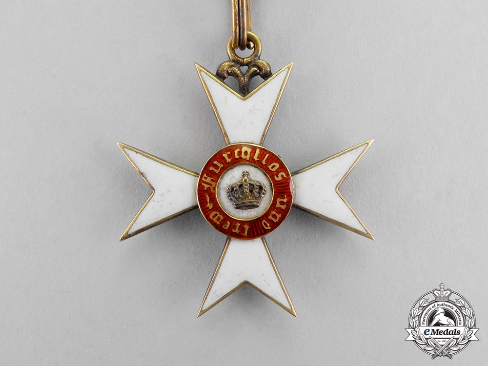 Württemberg. An Order of the Crown in Gold, 1st Class Knight's Cross, c.1900