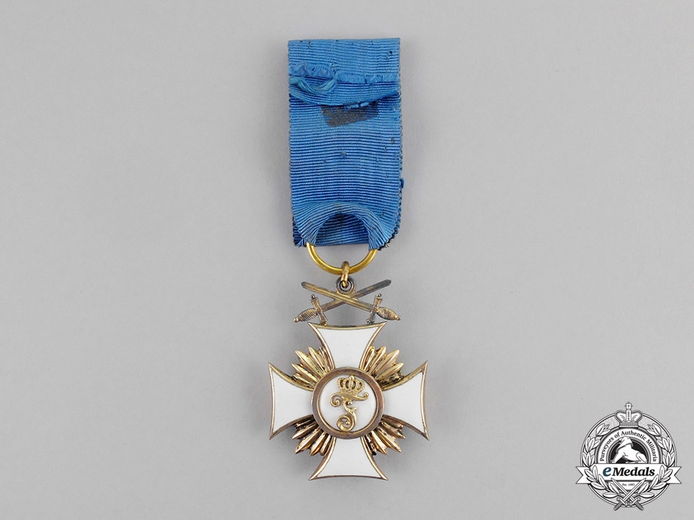 Württemberg. An Order of Friedrich, Knight's Cross First Class with Swords, c.1917