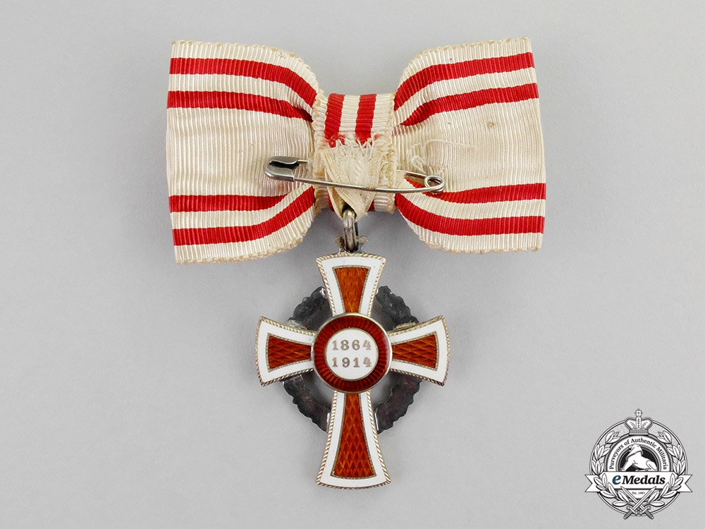 Austria, Imperial. An Honour Decoration of the Red Cross; 2nd Class with War Decoration for Ladies