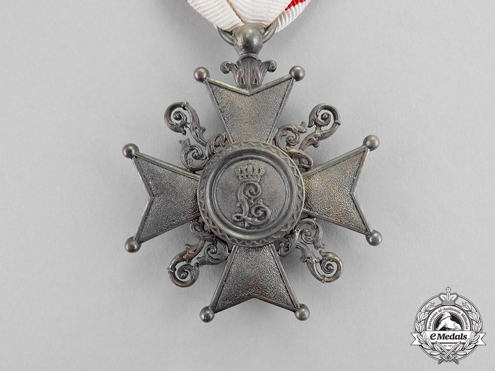 Lippe. A Leopold Order Cross, III Class Knight, c.1917