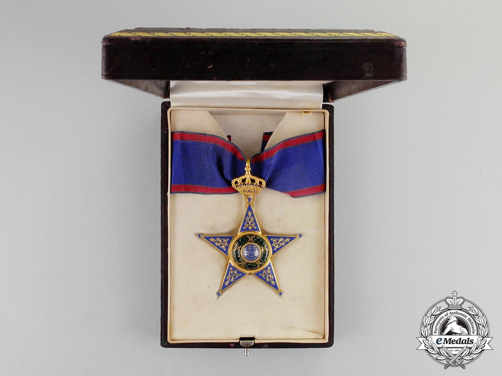 Egypt, Kingdom. An Order of Ismail in Gold, 1st Class Commander, by J.Lattes, c.1925