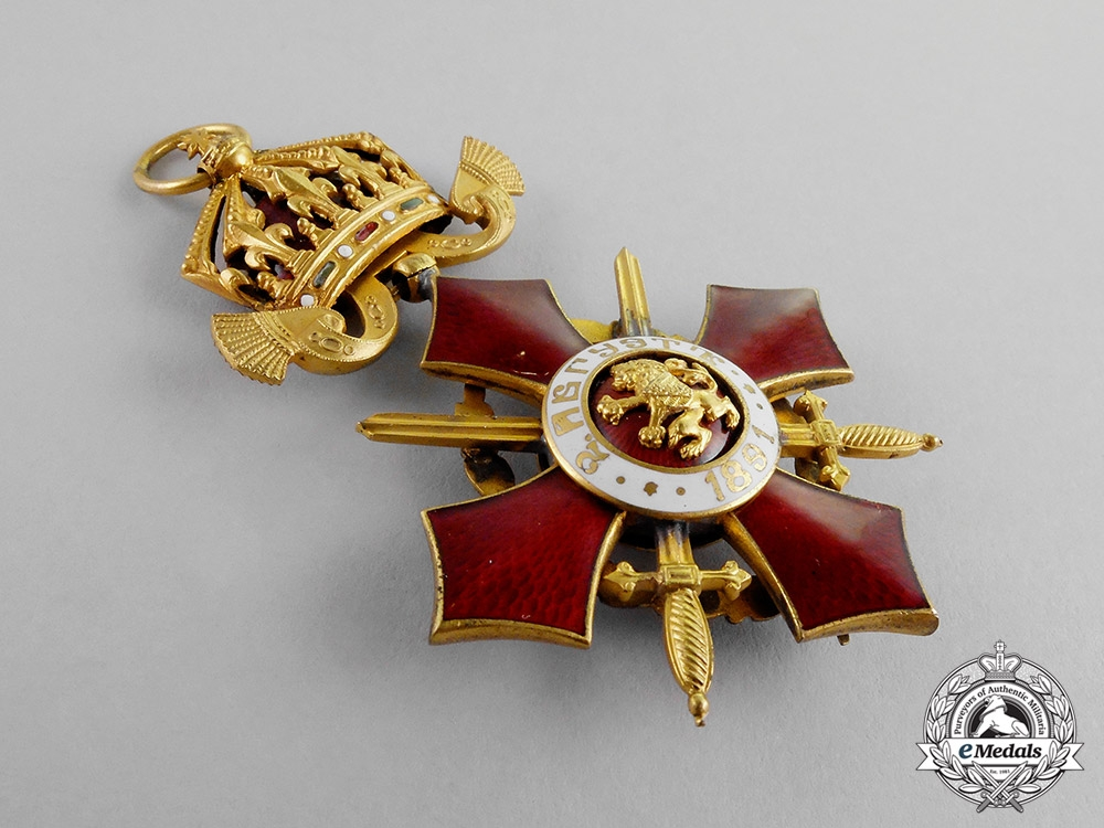 Bulgaria, Kingdom. An Order of Military Merit, Officer, 4th Class, c.1916