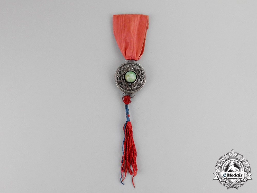 China, Empire. A Medal of Merit, Second Class, c.1860