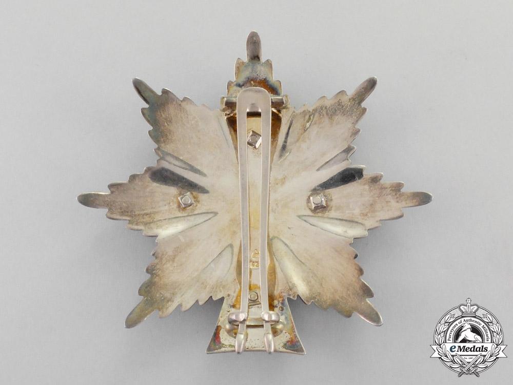 Denmark. An Order of Dannebrog, 1st Class Grand Cross Set, c.1975