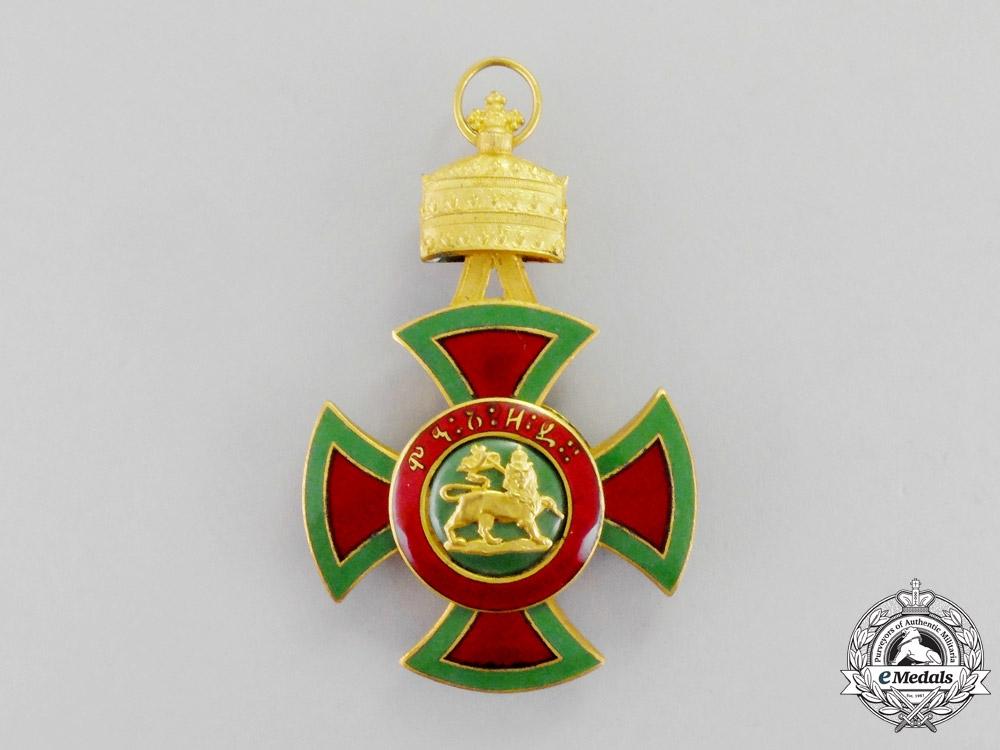 Ethiopia. An Order of Emperor Menelik II, Officer