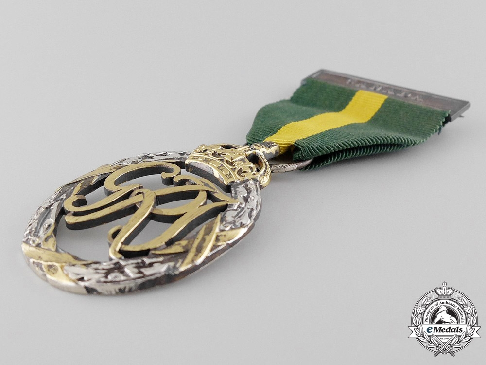 Efficiency Decoration to Major J.E. Grandmont