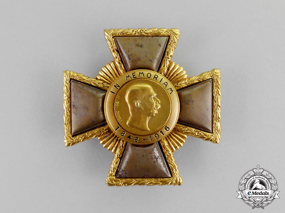 """Austria, Imperial. A Franz Josef """"Weiland"""" Cross; First Class, c.1918"""