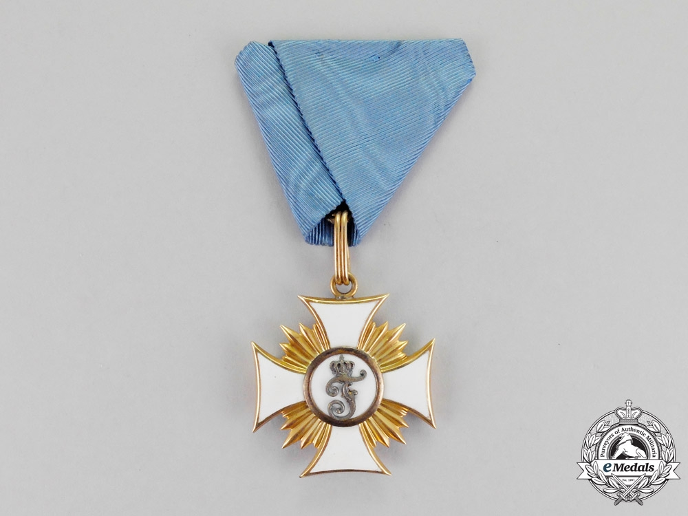 Württemberg. An Order of Friedrich in Gold, First Class Knight's Cross, c.1880