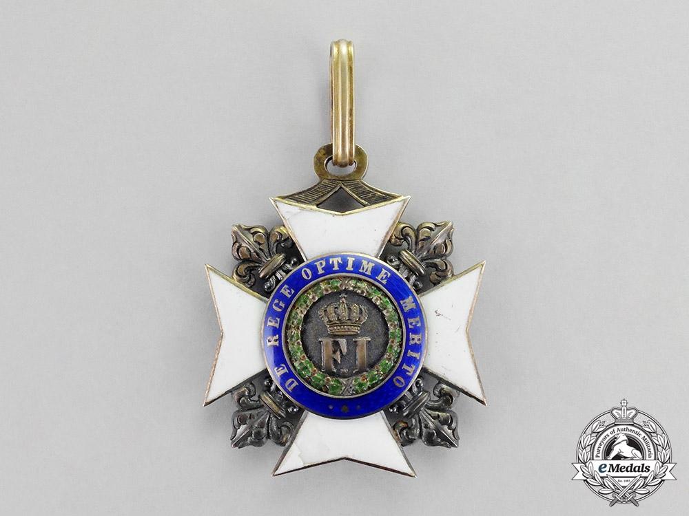 Italian States, Sicily Kingdom. An Order of Francis I, Knight Commander, c.1820