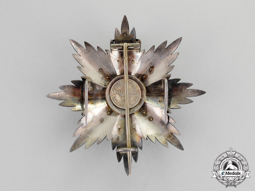 International. An Order of Saint Catherine of Mount Sinai, Grand Cross Star, c.1870