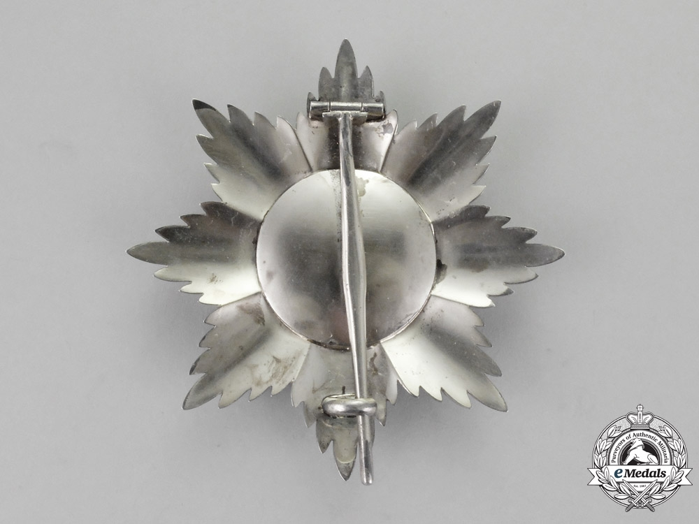 Oldenburg. A House and Merit Order of Duke Peter Frederick Louis. Grand Commander Star, c.1900