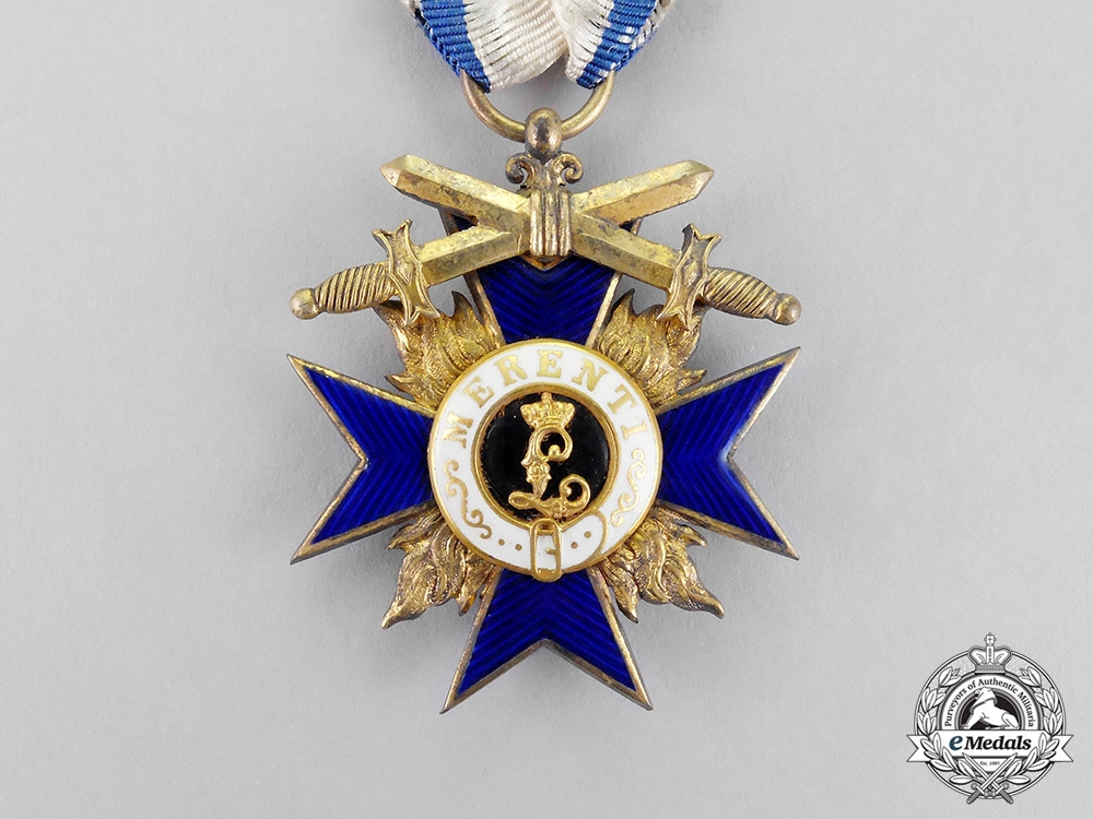 Bavaria. An Order of Military Merit, Third Class Knight with Swords, c.1915