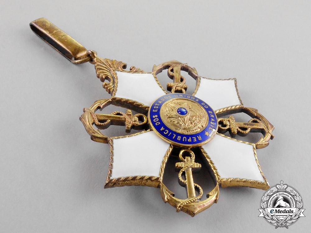 Brazil, Republic. An Order of Naval Merit, Commander, c.1940