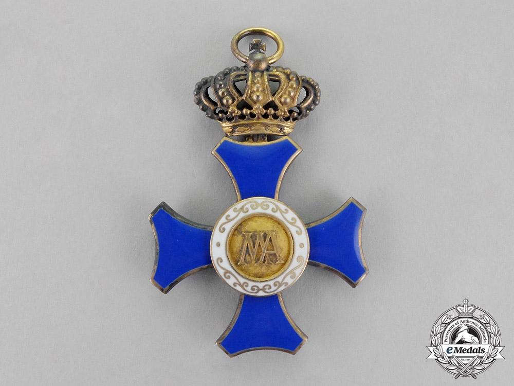 Saxony. A Maria-Anna Order, First Class Cross, c.1910