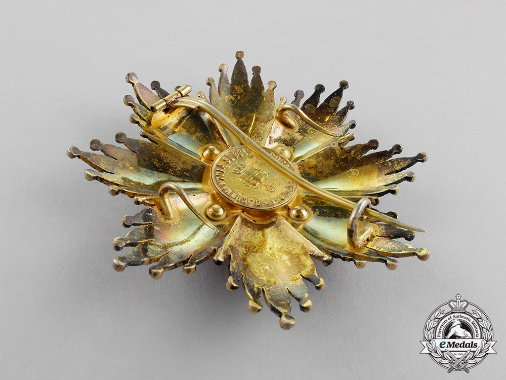 Mexico, Republic. An Order of Guadalupe, 1st Class Grand Cross Star, by D.Cravanzola, c.1900