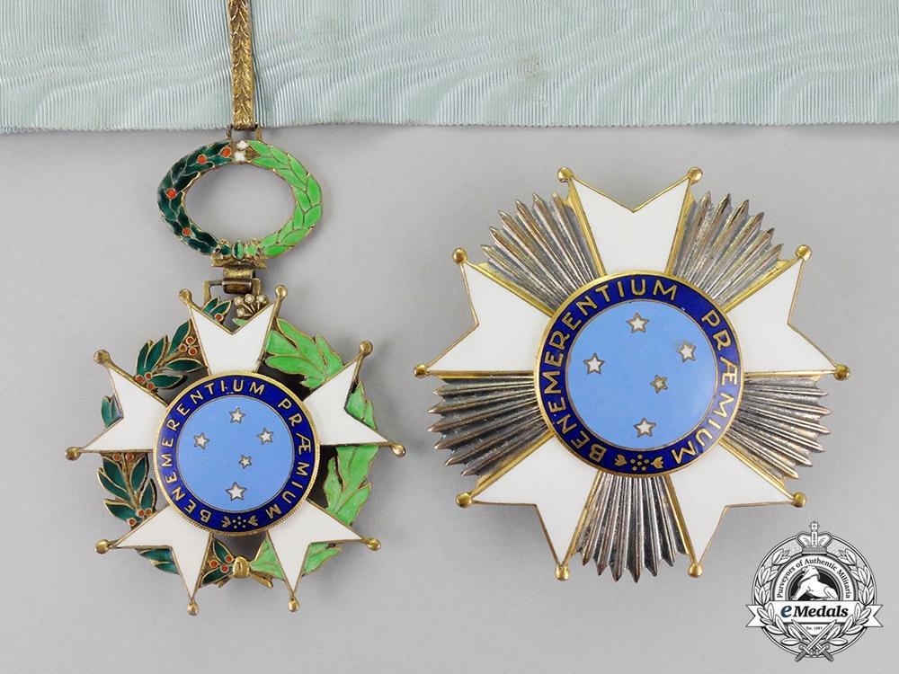 Brazil, Estado Novo Period. A National Order of the Southern Cross, Grand Officer Set, c.1934