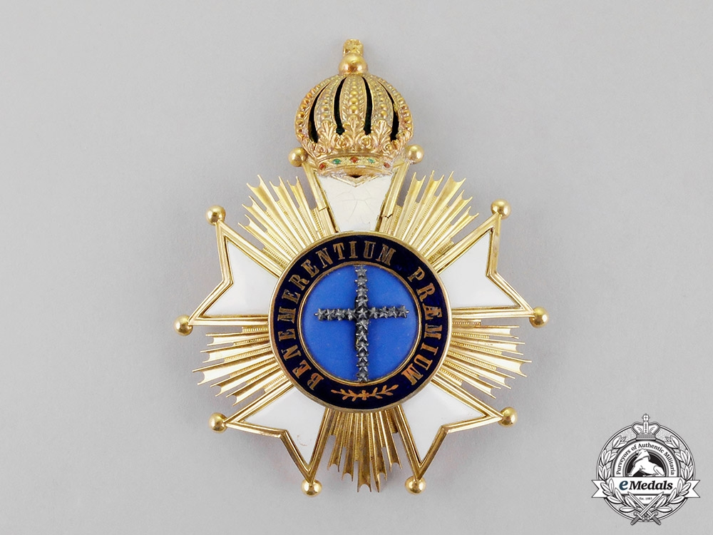 Brazil, Kingdom. An Order of the Southern Cross in Gold, Grand Cross, c.1850