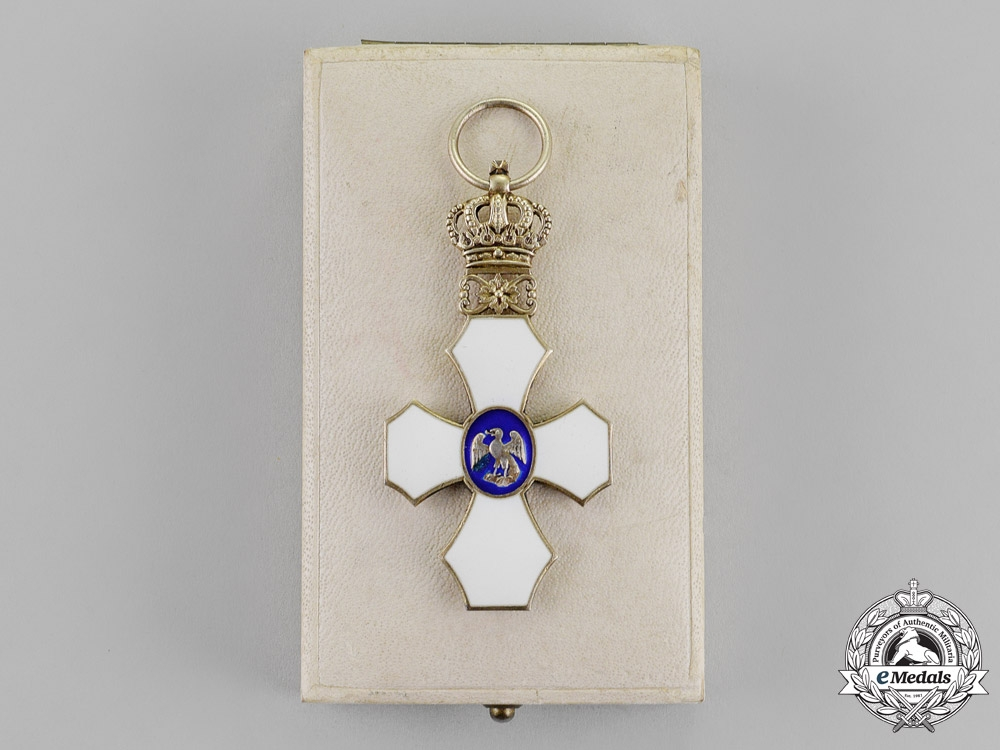 Iceland, Republic. An Order of the Falcon, Knight's Cross, c.1930