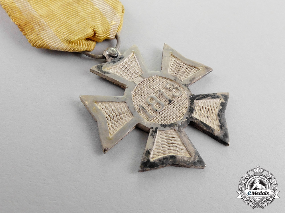 Netherlands, Kingdom. An 1813-15 War Service Cross