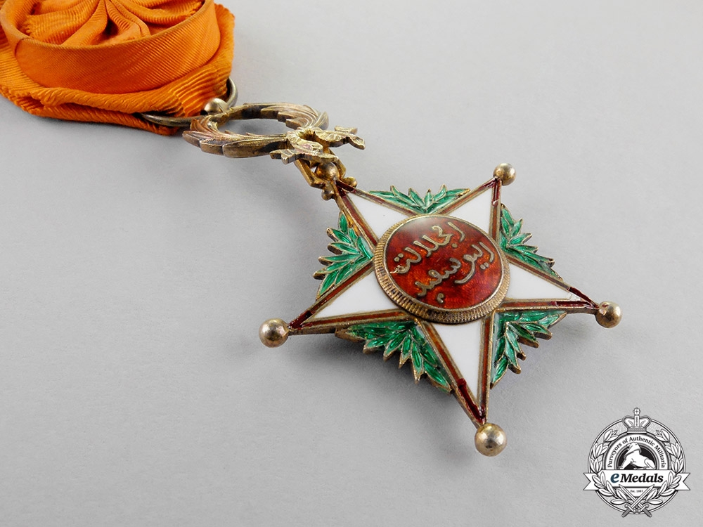 Morocco. An Order of Ouissam Alaouite, Officer, 4th Class, c.1925