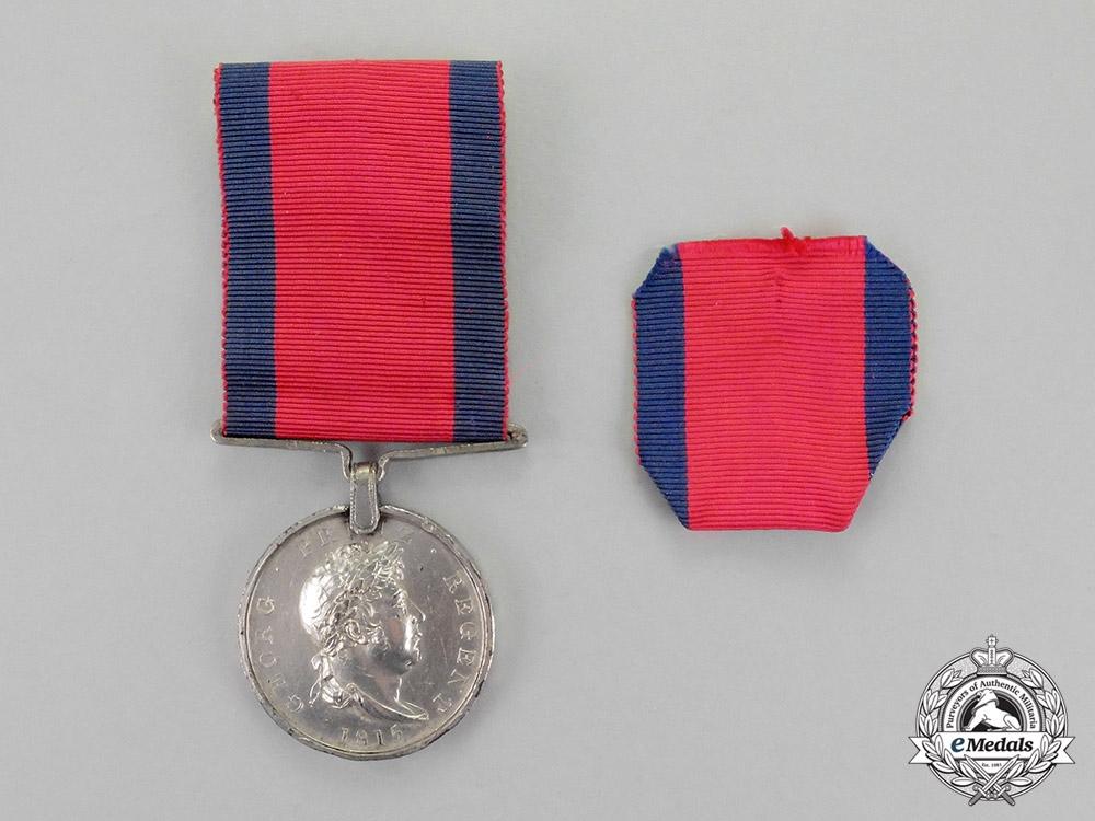 Hannover. An 1815 Issue Waterloo Medal, Grenadier Battailon Verden