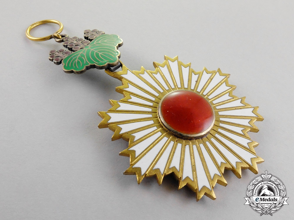 Japan, Imperial. An Order of the Rising Sun, 4th Class by Godet, c.1938