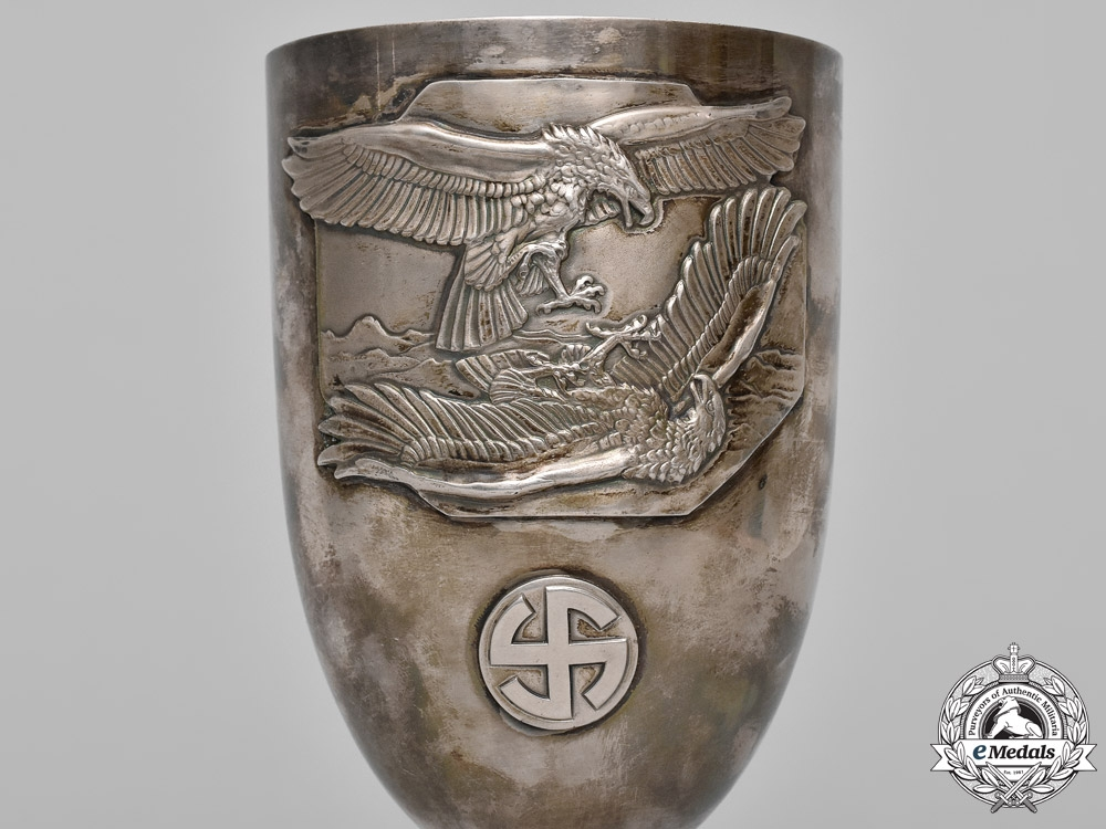 Germany. A Possible Prototype of a Luftwaffe Honour Goblet, c. 1935-1936