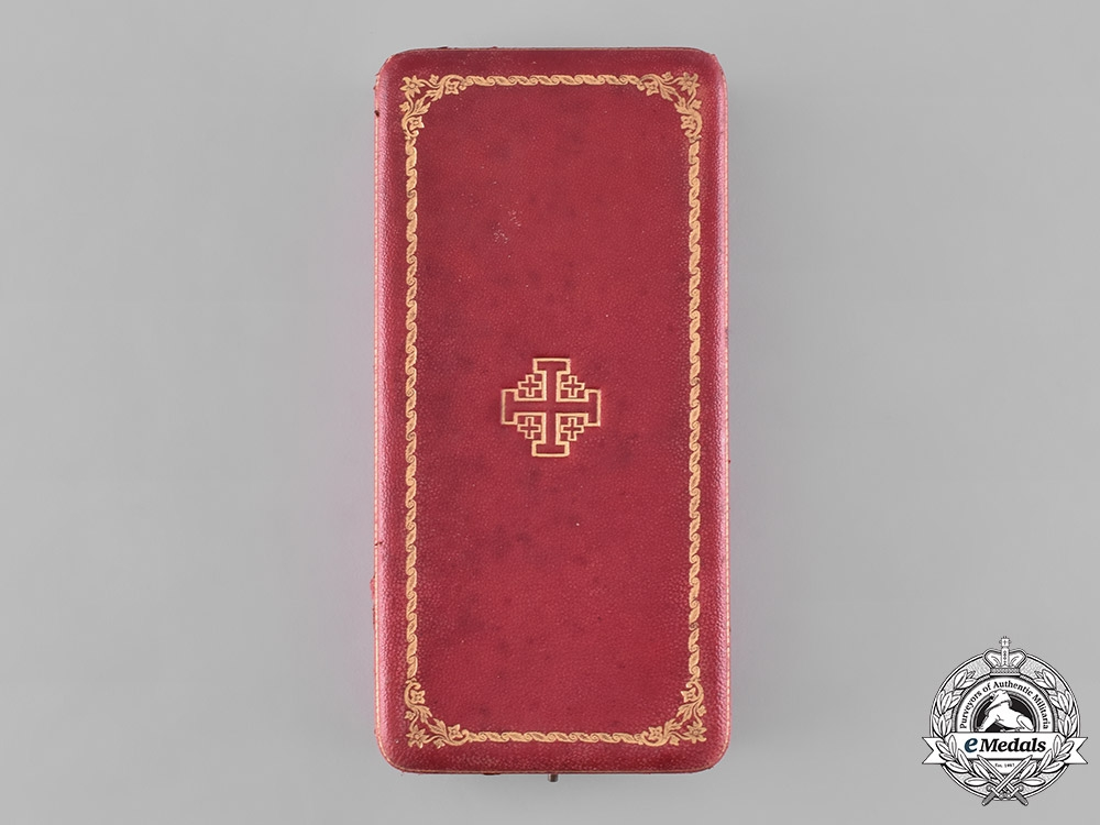 Vatican. An Order of St. Gregory the Great, Commander's Case, by Tanfani and Bertarelli