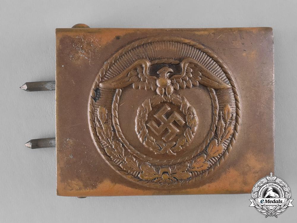 Germany. An SA-Mann's Belt Buckle