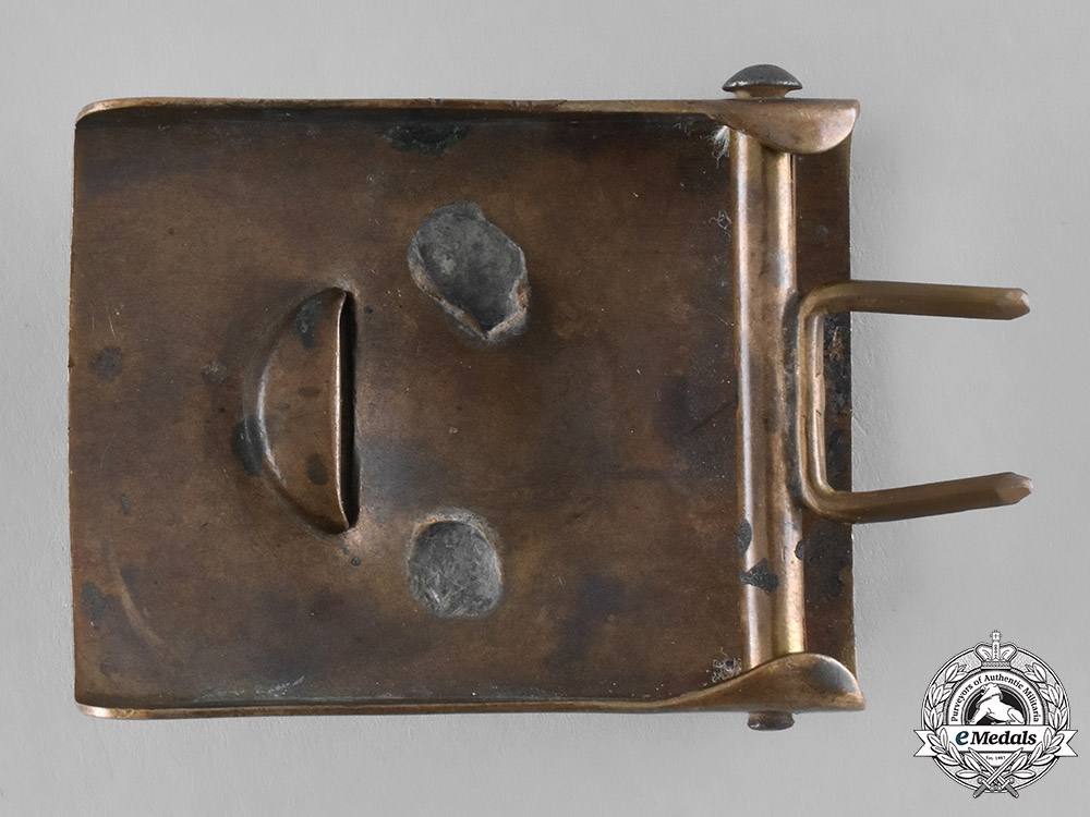 Saxony, State. An Imperial Saxon Army EM/NCO's Belt Buckle