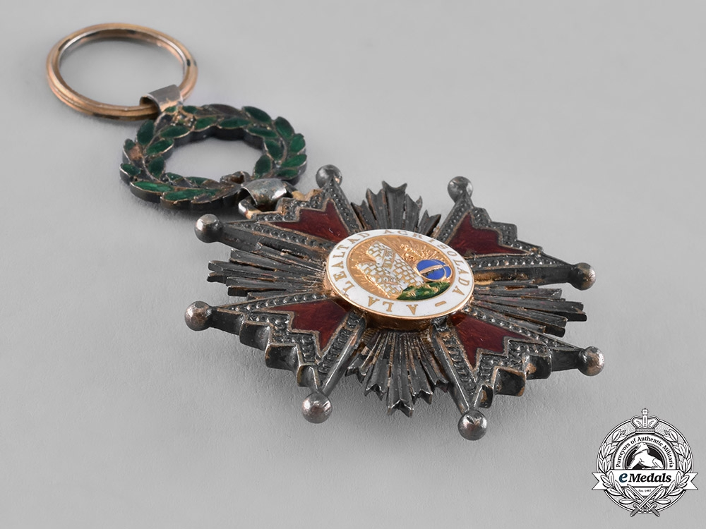 Spain, Kingdom. An Order of Isabella the Catholic, Knight, c.1835