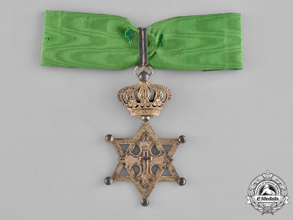 Ethiopia, Empire. An Order of the Seal of Solomon, Commander, c.1900