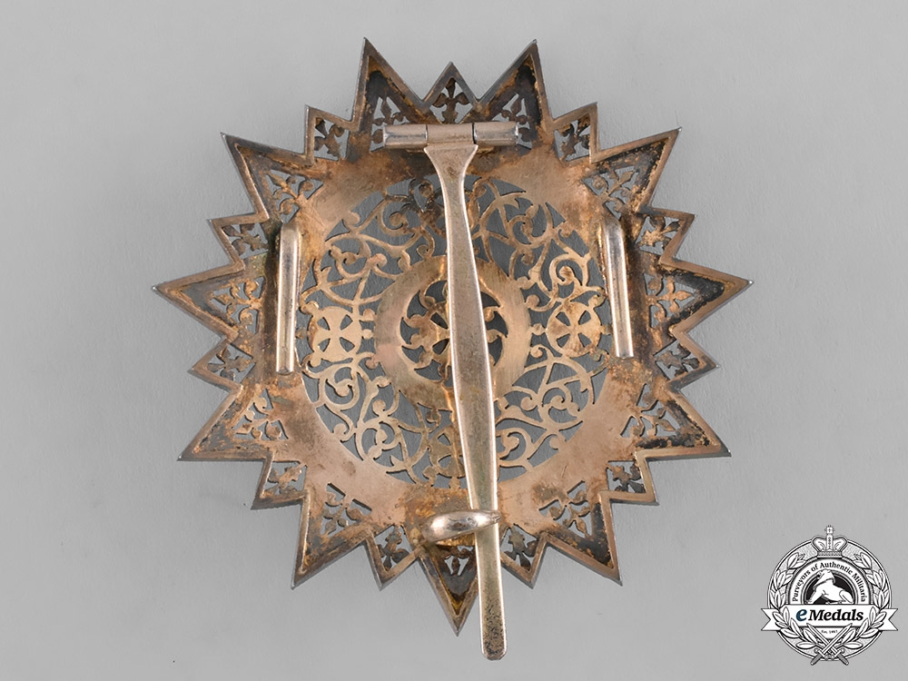 Ethiopia, Empire. An Order of the Star of Ethiopia, Grand Cross Star, c.1900